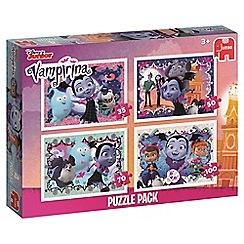Vampirina - 4-in-1 jigsaw puzzle set
