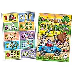 Orchard Toys - Set of 2 'Look and Find' number learning jigsaw puzzle