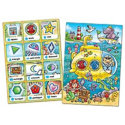 Orchard Toys - Set of 2 'Look and Find' shape learning jigsaw puzzle