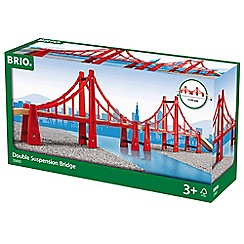 Brio - World double suspension bridge