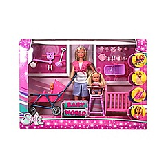 Steffi Love - 'Steffi Love - Baby World' doll playset