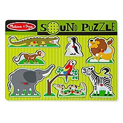 Melissa & Doug - Zoo Animals Sound Puzzle