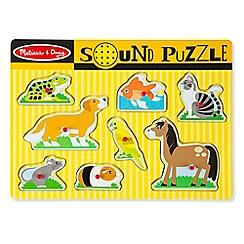 Melissa & Doug - Pets Sound Puzzle