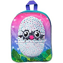 Hatchimals - Embroidered plush backpack