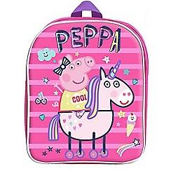 Peppa Pig - Pink 'Unicorn' backpack