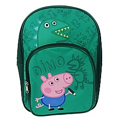 Peppa Pig - Green 'George Pig' backpack