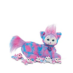 Kitty Surprise - Pink and Blue Tie Dye Tasha Plush - Wave 8