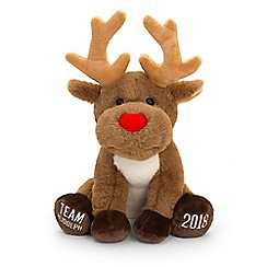 Keel - 'Team Rudolph Reindeer' 25cm soft toy
