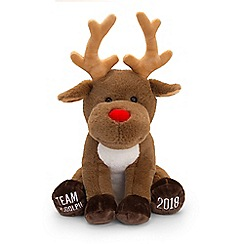 Keel - 'Team Rudolph Reindeer' 35cm soft toy