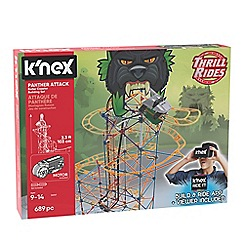 K'Nex - 'Thrill Rides - Panther Attack' roller coaster building set - 34047