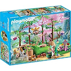 Playmobil - Fairies Magical Fairy Forest Playset - 9132