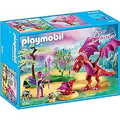 Playmobil - Fairies Friendly Dragon with Baby Playset - 9134