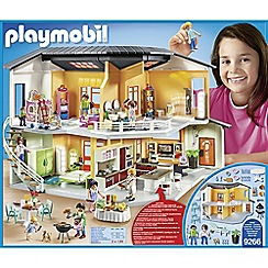 Playmobil - City Life Modern House with Working Doorbell Playset - 9266