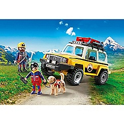 Playmobil - Mountain Rescue Truck Playset - 9128