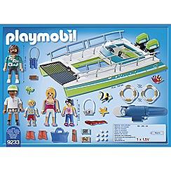 Playmobil - Sports and Action Glass-Bottom Boat Playset - 9233