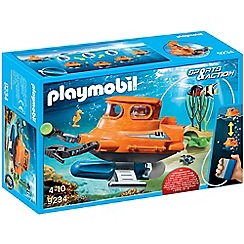 Playmobil - Sports and Action Submarine with Underwater Motor Set - 9234