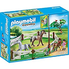 Playmobil - Country Horse Paddock Set - 6931