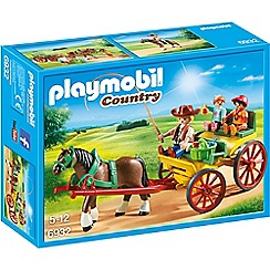 Playmobil - Country Horse-Drawn Wagon Set - 6932