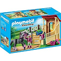 Playmobil - Country Horse Stable with Araber Set - 6934