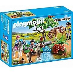 Playmobil - Country Horseback Ride Set - 6947