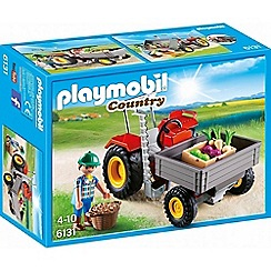 Playmobil - Country Harvesting Tractor Set - 6131