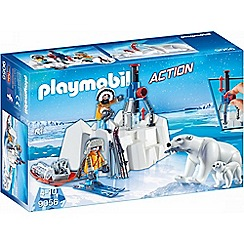Playmobil - Arctic Explorers with Polar Bears Set - 9056