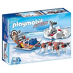Playmobil - Husky-Drawn Sled Set - 9057