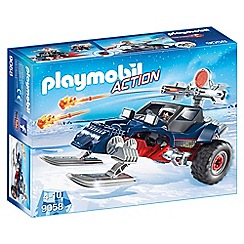 Playmobil - Ice Pirate with Snowmobile Set - 9058