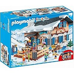 Playmobil - Action Ski Lodge Set - 9280