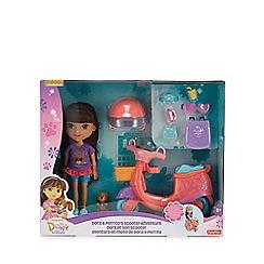 Dora the Explorer - Dora & Perrito's Scoot Adventure set