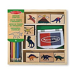 Melissa & Doug - Dinosaur Stamp Playset