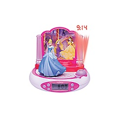 Disney Princess - 'Cinderella' radio projector clock - RP510DP