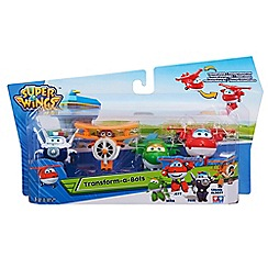 Super Wings - Pack of 4 Transform-A-Bots Playset