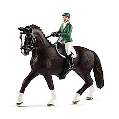 Schleich - Showjumper with Horse - 43258