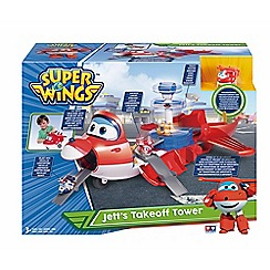 Super Wings - 'Jett's Takeoff Tower™' 2-in-1 toy playset