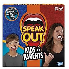 Hasbro - Speak out kids vs parents game