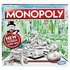 Hasbro - Monopoly classic game