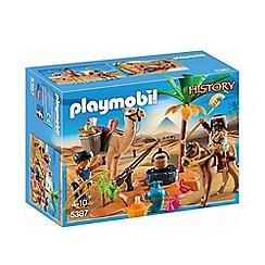 Playmobil - History Egyptian Tomb Raider's Camp Playset - 5387