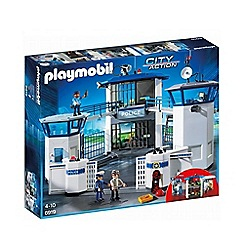 Playmobil - City Action Police Headquarters Playset - 6919