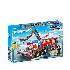 Playmobil - City Action Airport Fire Engine Playset - 5337