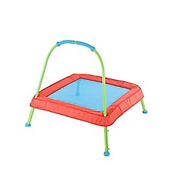 Early Learning Centre - Red and Blue Junior Trampoline
