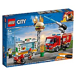 LEGO - City Burger Bar Fire Rescue Set - 60214