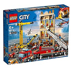 LEGO - City Downtown Fire Brigade Set - 60216