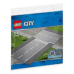 LEGO - City Supplementary Straight and T-Junction Road Plates - 60236