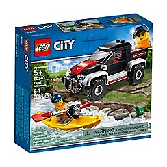 LEGO - City Great Kayak Adventure Vehicle Set - 60240