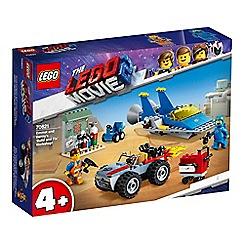 LEGO - Movie 2&#8482 Emmet and Benny's Workshop Set - 70821