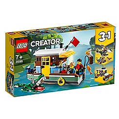 LEGO - Creator 3in1 Riverside Houseboat Set - 31093