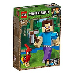 LEGO - Minecraft&#8482 Steve BigFig with Parrot Action Figure Set - 21148