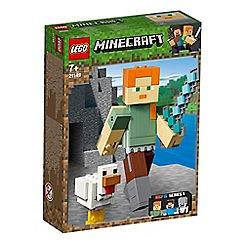LEGO - Minecraft&#8482 Alex BigFig with Chicken Action Figure Set - 21149