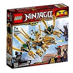 LEGO - Ninjago® The Golden Dragon Set - 70666